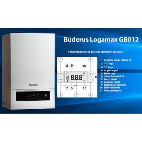Buderus GB 012-25 kw ERP Basic Plus Yogusmali Kombi
