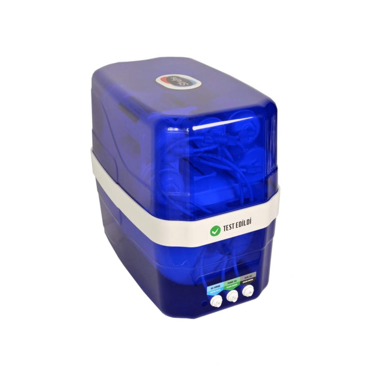 AquaTürk Stratos Premium Kompakt Su arıtma Cihazı(3-05-STR-IN)Mavi