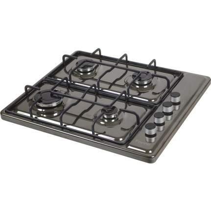 Ferre S 40 B Siyah Doğalgaz/Lpg Ocak (İnce Tasarım)
